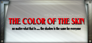 Color of the skin by M10tje