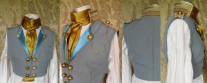 Steampunk inspired waistcoat PCW14-10 by JanuaryGuest