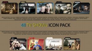 48 tv show icons by ivanvess