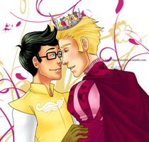 The Prince and his Page by uberchicken