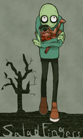 salad fingers by hoshikagami