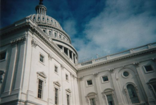 Capital Building Close Up by viciousluvr