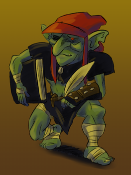 Redcap the Scribe by ADHadh