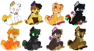 Adoptables for Some cool ppl by TazmanianRabbids