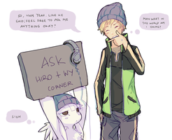 DW - Ask Wy and Hiro corner by jeotabet