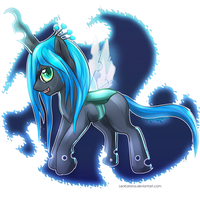 =MLP= Chibi Queen Chrysalis by LeoKatana