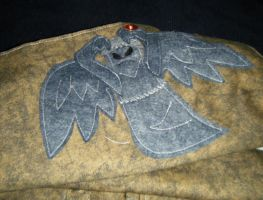 Weeping Angel Messenger Bag Inside Flap by AbleSistersFanCrafts