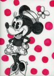 Retro Minnie by CoffeeToffeeSquirrel