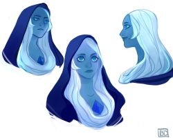 some Blue Diamond sketches by Banandara