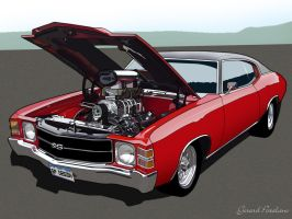 Chevelle Vector by licougarnut
