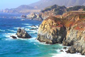 Big Sur in summer by hemasu