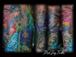 Mark Cover-up by Reddogtattoo