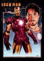Iron Man by Habjan81