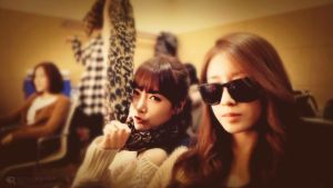 Retouch Experiment: Soyeon and Jiyeon by rhuday