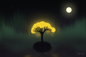 Kyoto - The Lonely Tree by Crippless