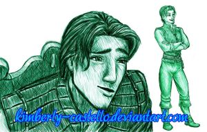Day 3 - Favorite Disney Prince by kimberly-castello