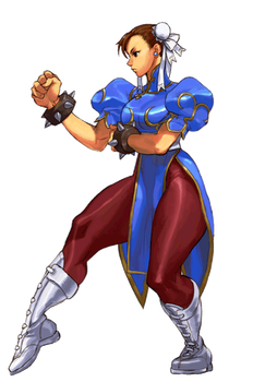 Chun Li Third Strike HD by steamboy33