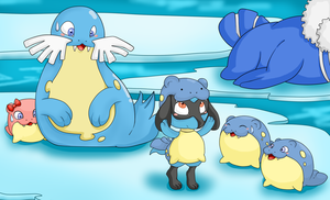 Ok now i'm a spheal by kiraLb