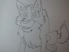 Balto Sketch 2 by iaintgotaclue