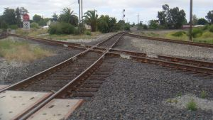 Niles Junction cross over by BNSF