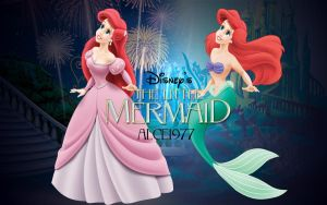 Ariel - Clipart Practice Wallpaper by Alce1977