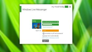Metro Windows Live Messenger by Superharas