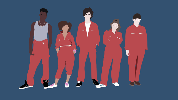 Minimalist Misfits by DamionMauville