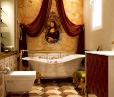 Mona lisa bathroom by yasseresam