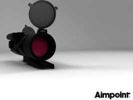 Aimpoint COMP ML2 by EnricoMulyadi