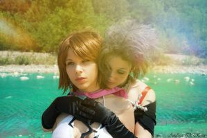 Yuna and Paine - Final Fantasy X-2 by UndiciSmaug