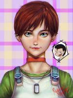 Rebecca Chambers and Little Billy by ShiroReikaji