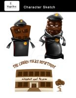 The candies police department by X-Factorism