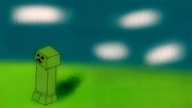 The lone creeper by seth177
