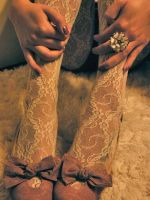 Lace Tights by VallyDream