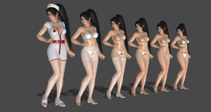 Momiji Sexy Nurse completed by bstylez