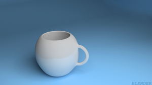 my first work with blender by feniksas4