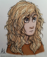 Young Annabeth by Deesney