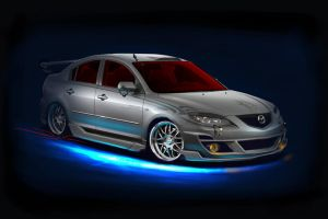 Mazda3 showcar by FutureElements