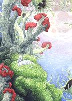 Aceo Lichen Forest by thedancingemu