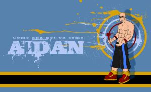 Come and get some Aidan by Adder24
