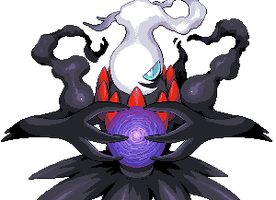 Darkrai pixel-art by Hyshirey