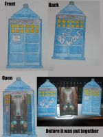 TARDIS Card 2 by PhantomOfARose