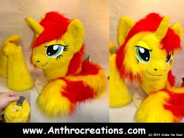 Sunset 2014 Partial 3/4 Suit for Charity by AtalontheDeer
