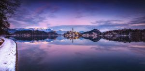 ...panorama of bled I... by roblfc1892