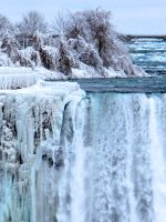 Winter Postcard from Niagara 2 by Nariane