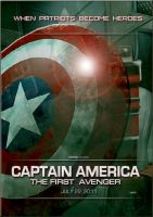 Captain America Teaser Poster by Marvel-Freshman