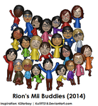 Rion's Mii Buddies (2014) by Kulit7215