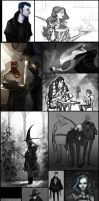 Sketchdump Part6 : comics project by Grimhel