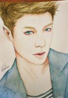 EXO: Lay (Art trade) by TheCorinna