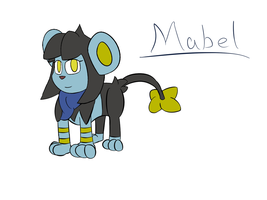 Mabel- Luxio by Mystery-V